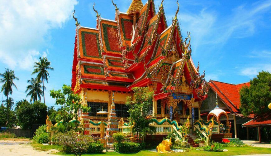 Thailand Temple Roof