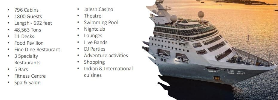 Cordelia Cruise Packages